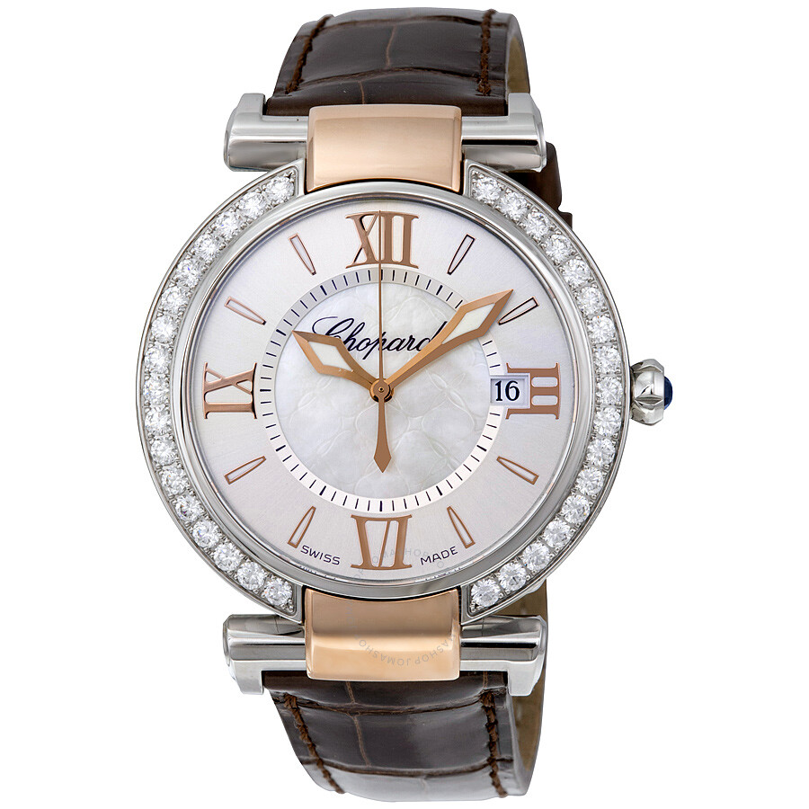 Chopard Imperiale Diamond Silver Dial Ladies Watch 388532-6003