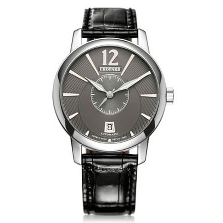 Chopard L.U.C. Classic Twin Jose Carreras Automatic Black Dial Mens Watch 161909-1001