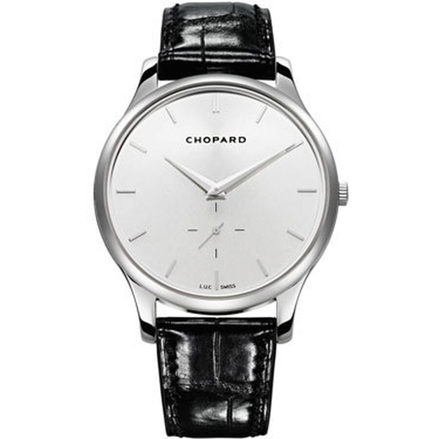 Chopard L.U.C. XPS Automatic Silver Dial 18 kt White Gold Mens Watch 161920-1004