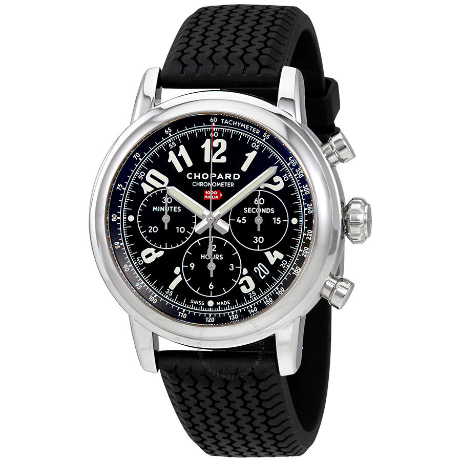 chopard mille miglia chronograph black dial men 39 s watch 168589 3002 mille miglia classic. Black Bedroom Furniture Sets. Home Design Ideas