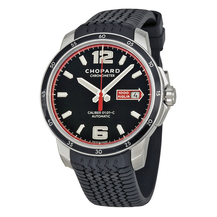 chopard mille miglia gts automatic black dial men 39 s watch. Black Bedroom Furniture Sets. Home Design Ideas