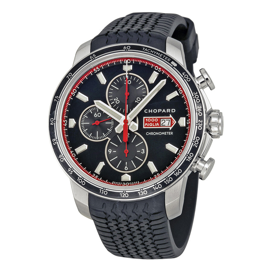 chopard mille miglia gts chronograph black dial men 39 s. Black Bedroom Furniture Sets. Home Design Ideas