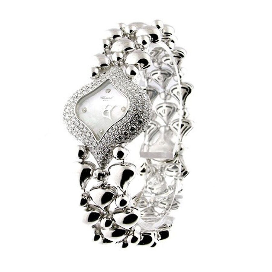 Chopard Pushkin Diamond Mother of Pearl Dial Ladies Watch 106813-1001