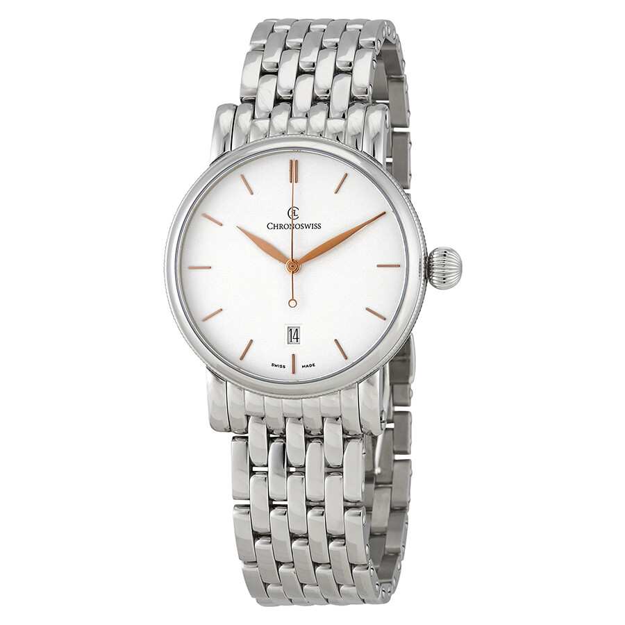 Chronoswiss Sirius Automatic White Dial Mens Watch CH-2893.1/S0-2