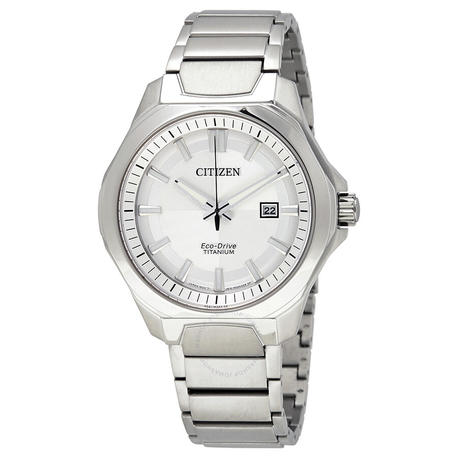 Citizen Eco-Drive Silver Dial Mens Watch AW1540-88A