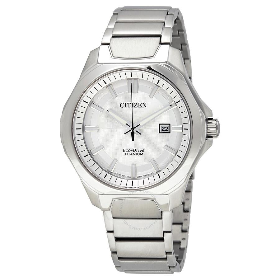 Citizen Eco-Drive Mens Titanium Watch AW1540-88A