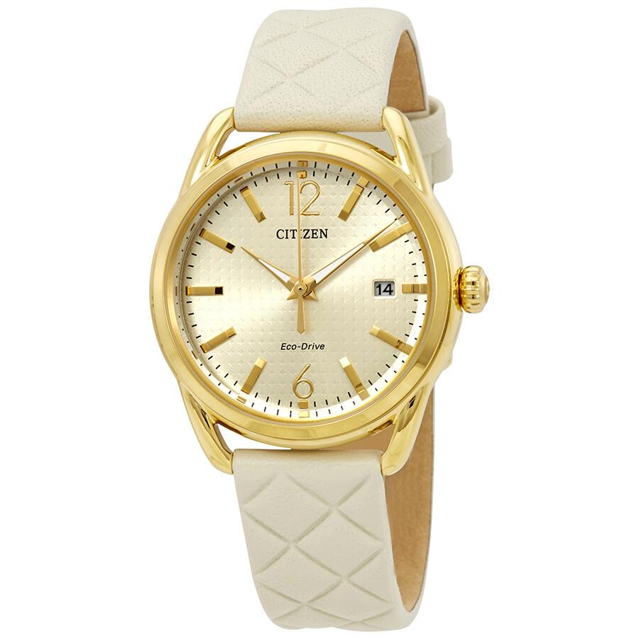 Citizen LTR - Long Term Relationship Champagne Dial Ladies Watch FE6082-08P