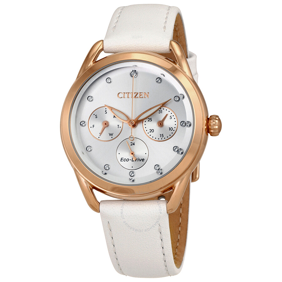 Citizen LTR Multifunction Silver Dial Ladies Watch FD2053-04A