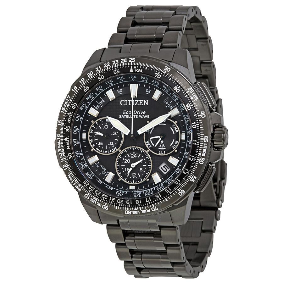 Citizen Promaster Navihawk GPS Chronograph Perpetual Mens Watch CC9025-85E