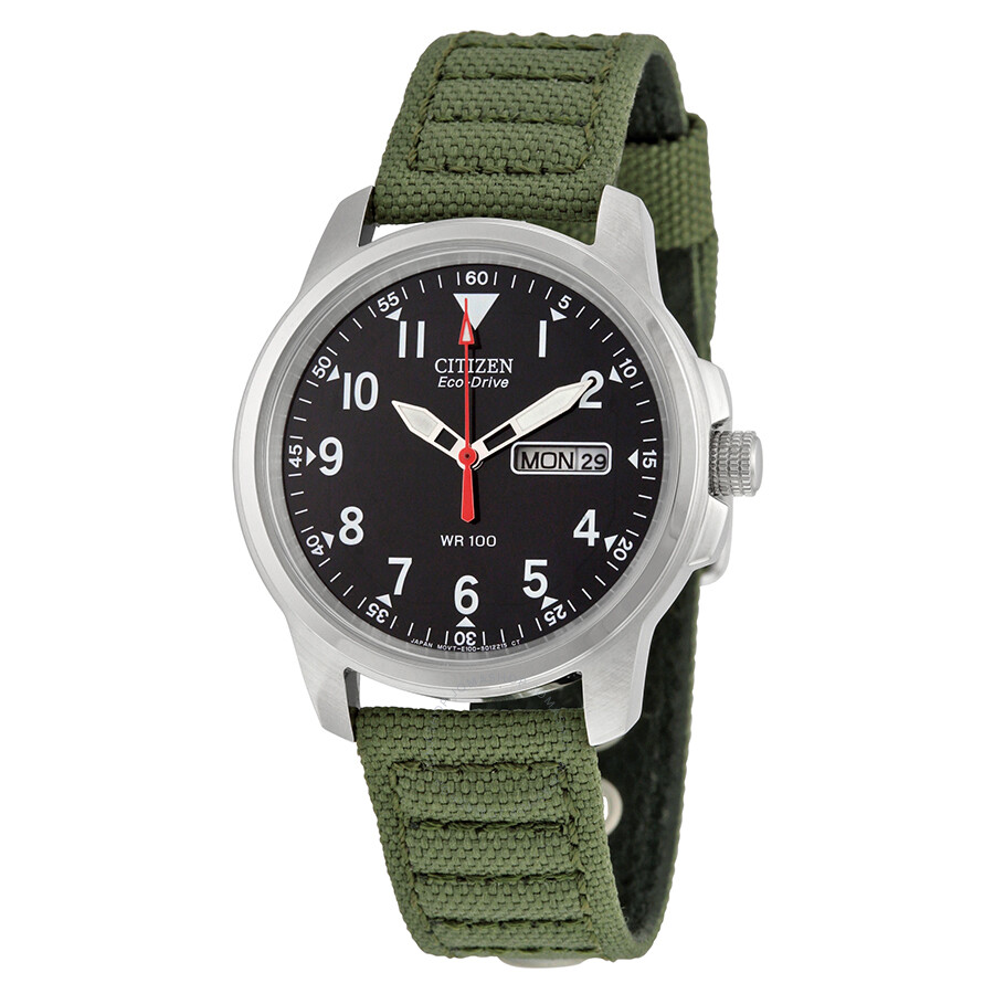 Citizen strap eco drive 180 day date men 39 s watch bm8180 03e eco drive citizen watches for Eco drive watch