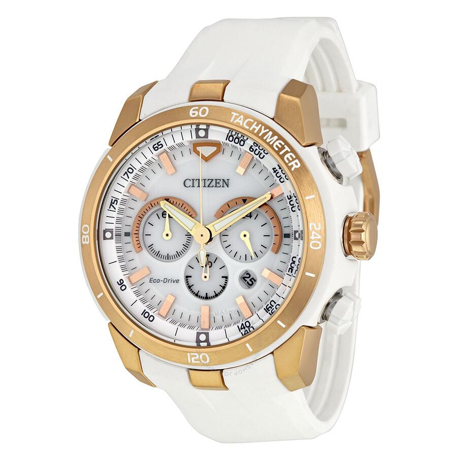Citizen Victoria Azarenka Limited Edition Ecosphere White Dial Mens Watch CA4153-00A