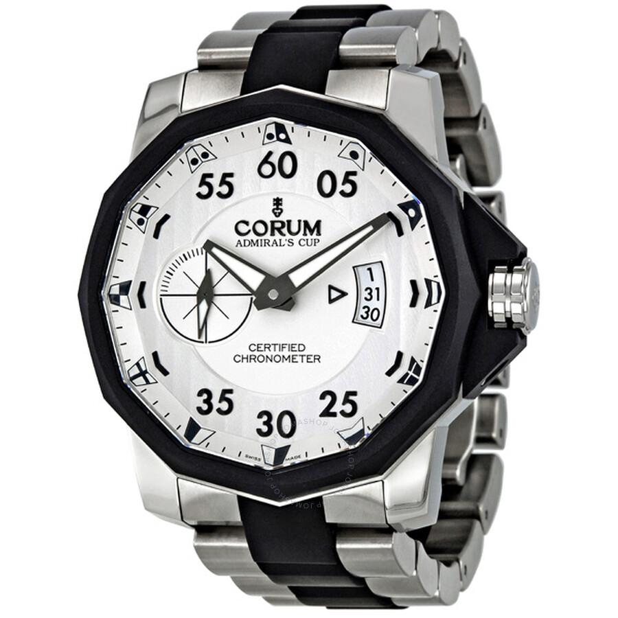Corum Admirals Cup Challenger 48 Titanium Mens Watch 94795195V791-AK14