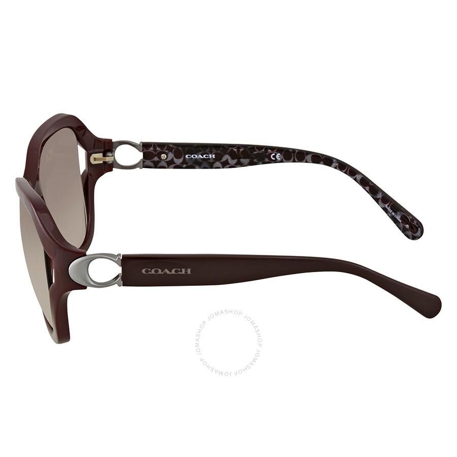 57da63aac6 ... where can i buy coach grey pink gradient square ladies sunglasses  0hc8238 55203b 57 72989 f72dd
