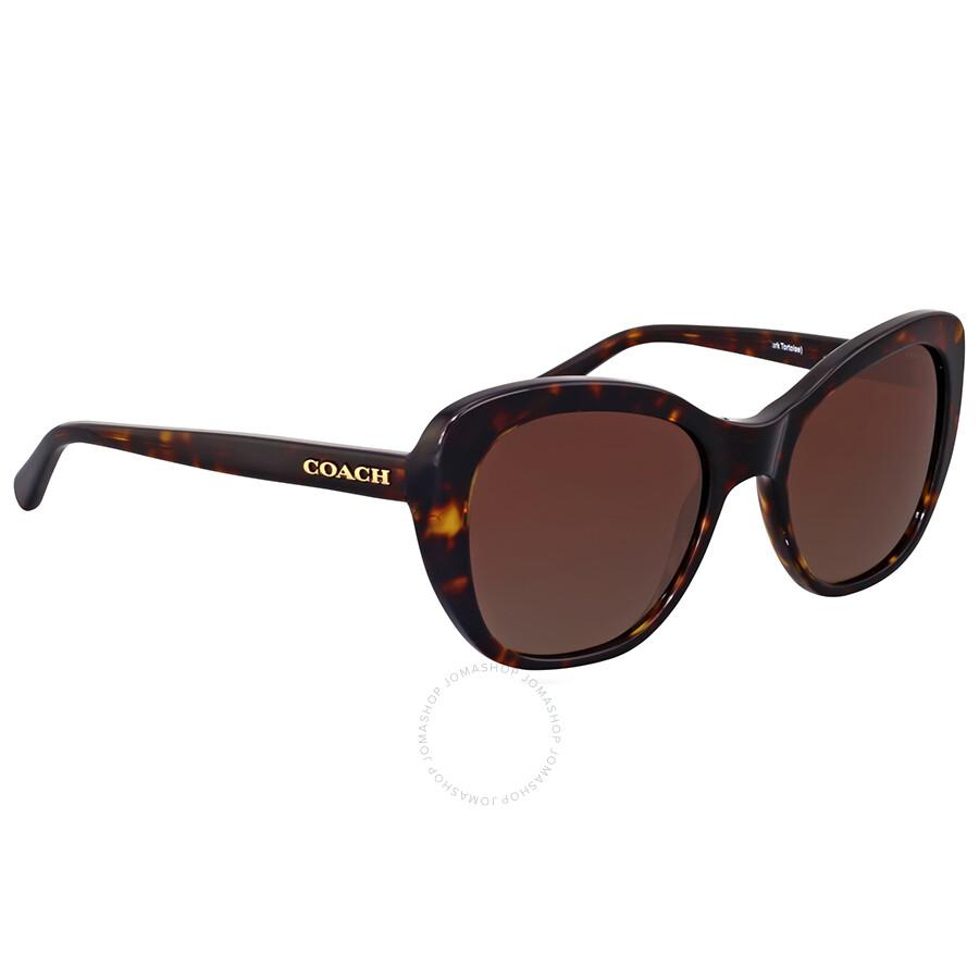 96c58440aa03 1234567 c9ed5 f2c71; get coach polarized brown gradient cat eye sunglasses  coach polarized brown gradient cat eye sunglasses f6348