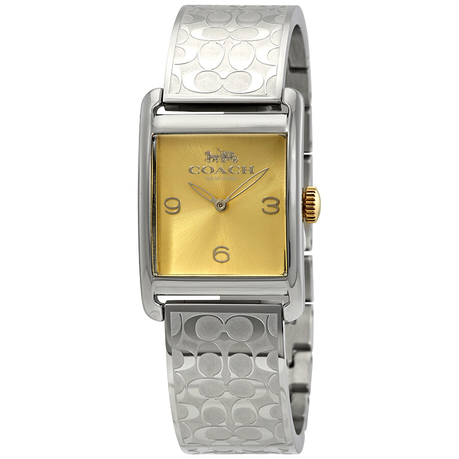 Coach Renwick Gold Dial Ladies Watch 14502850
