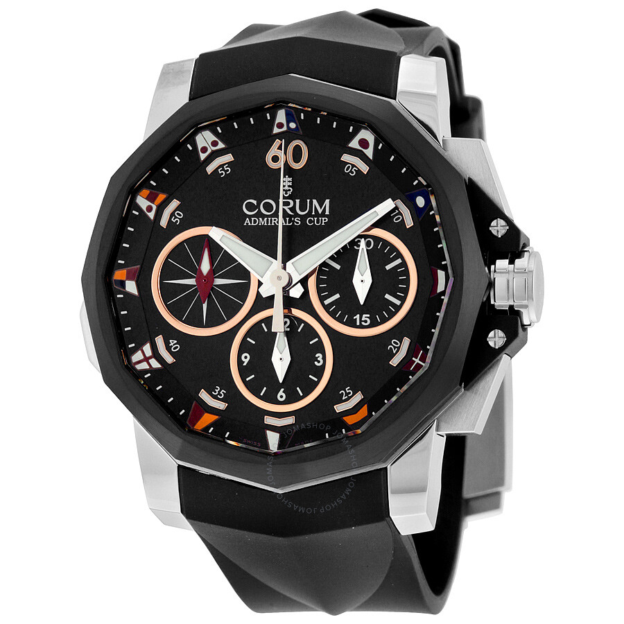 Corum admirals cup automatic chronograph men 39 s watch a98602937 admirals cup corum watches for Corum watches