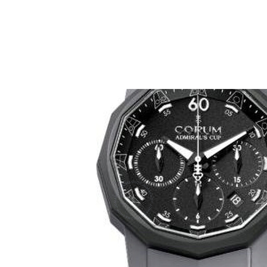 Corum Admirals Cup Black Dial Mens Watch 75381902F389AN