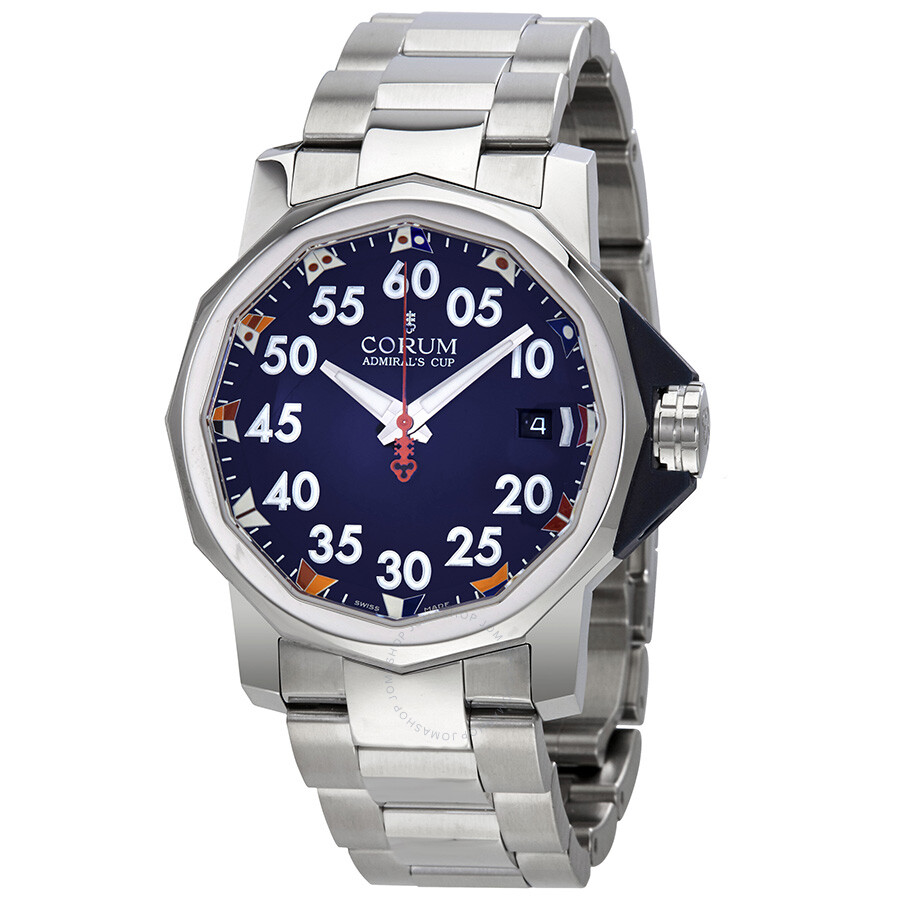 Corum admirals cup competition automatic men 39 s watch ab22 admirals cup corum for Corum watches
