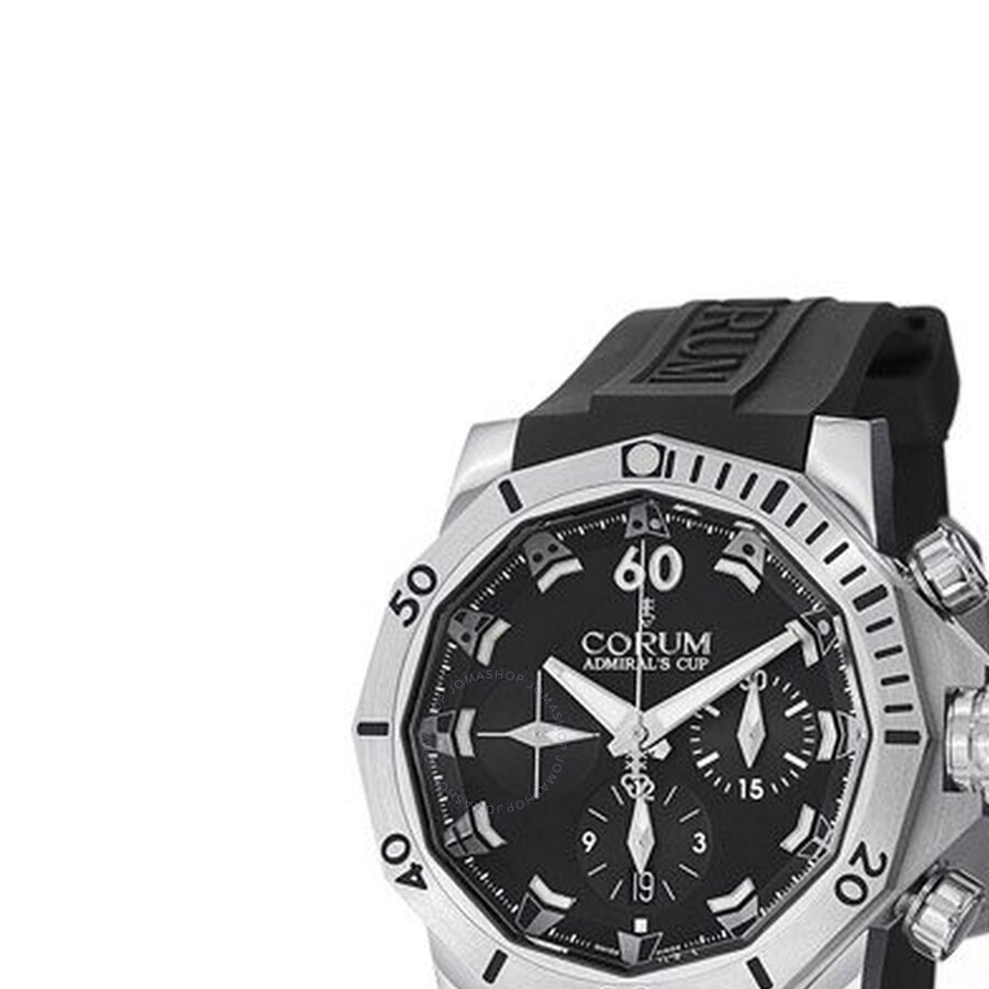 Corum Admirals Seafender Black Dial Mens Watch 75345104/0371AN