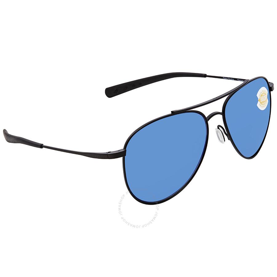 9ccc5abccfe Costa Del Mar Cook Blue Mirror 580P Aviator Sunglasses COO 101 OBMP