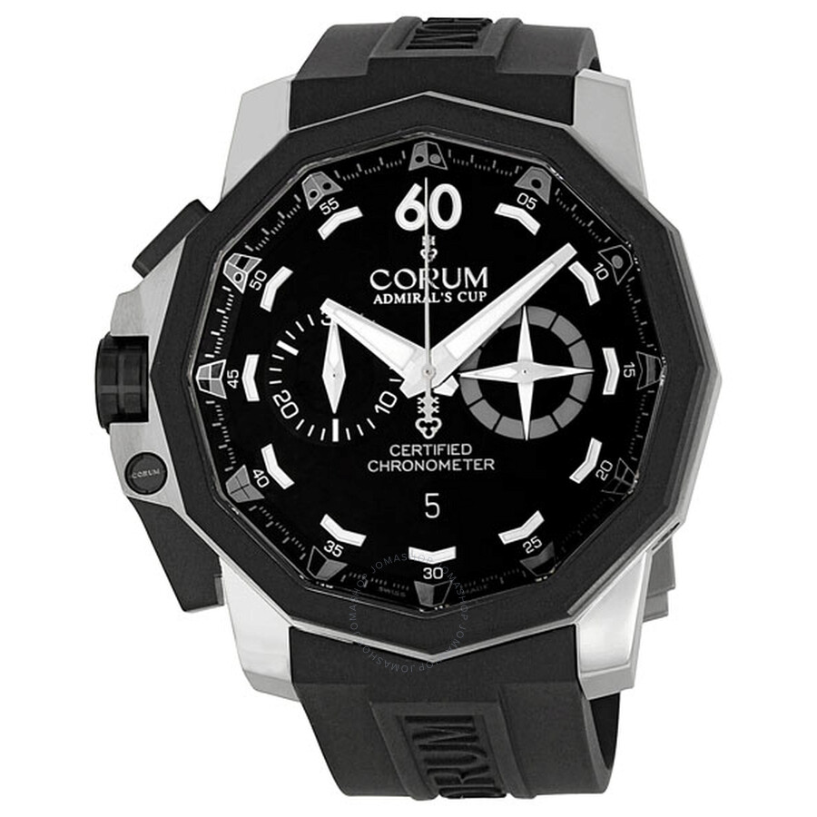Corum Admirals Cup Chronograph 50 LHS Mens Watch 753231060371-AN12