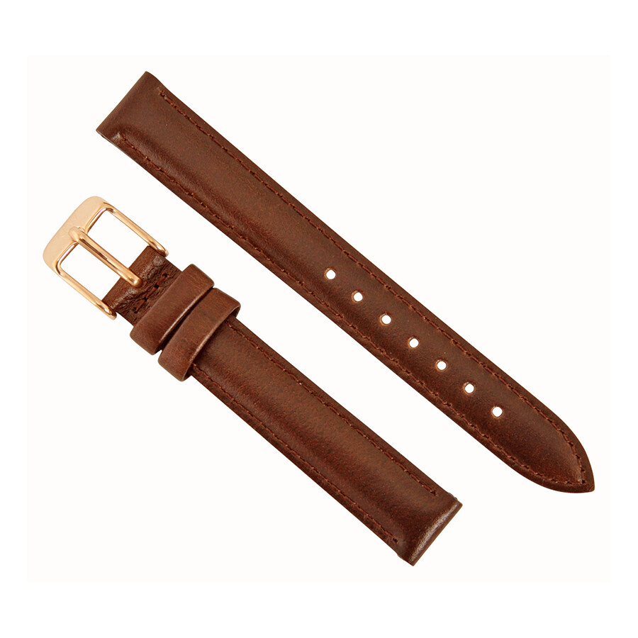 daniel wellington daniel wellington bristol 13mm brown leather watch band strap 1003dw