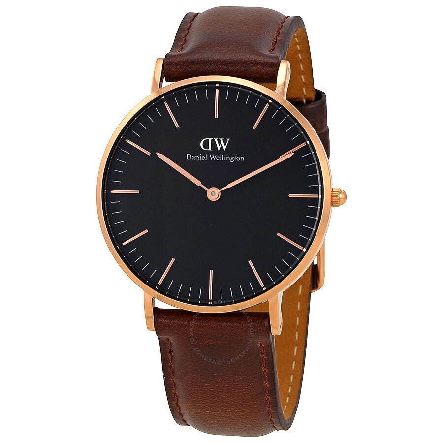 daniel wellington daniel wellington classic bristol black dial 36 mm watch dw00100137
