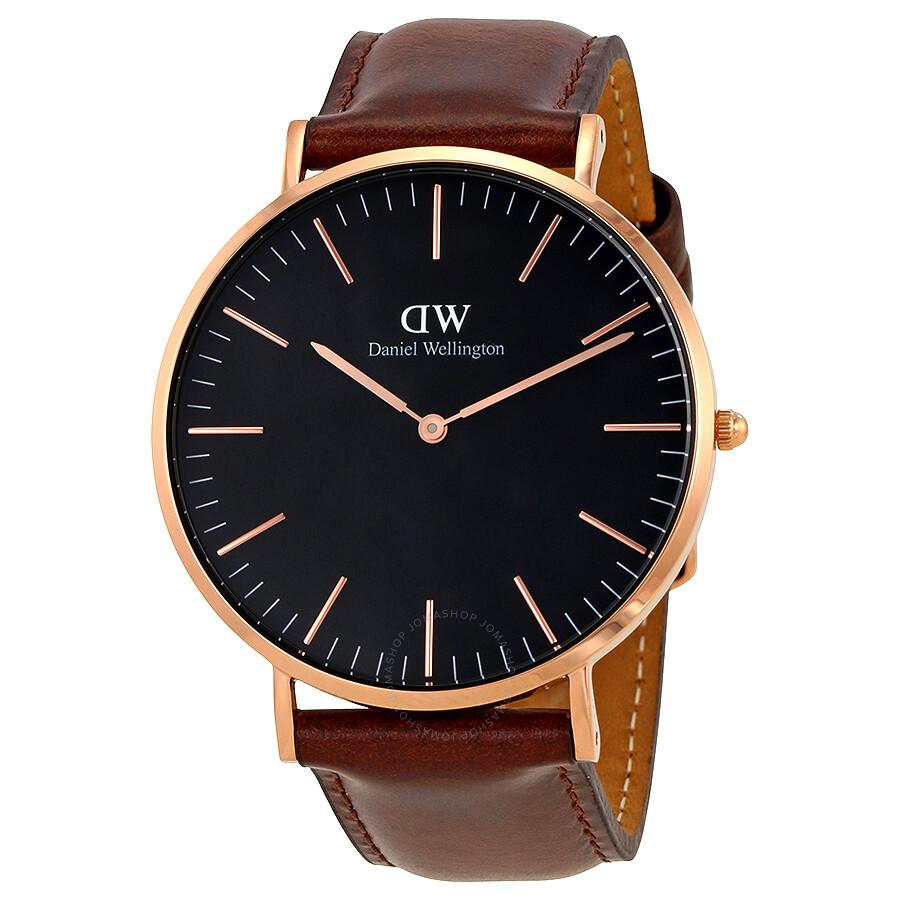 daniel wellington daniel wellington classic bristol black dial 40 mm watch dw00100125