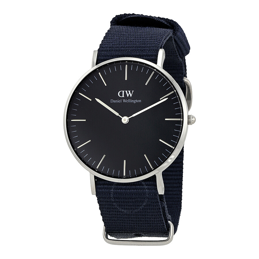 daniel wellington daniel wellington classic cornwall black dial 36mm watch dw00100151