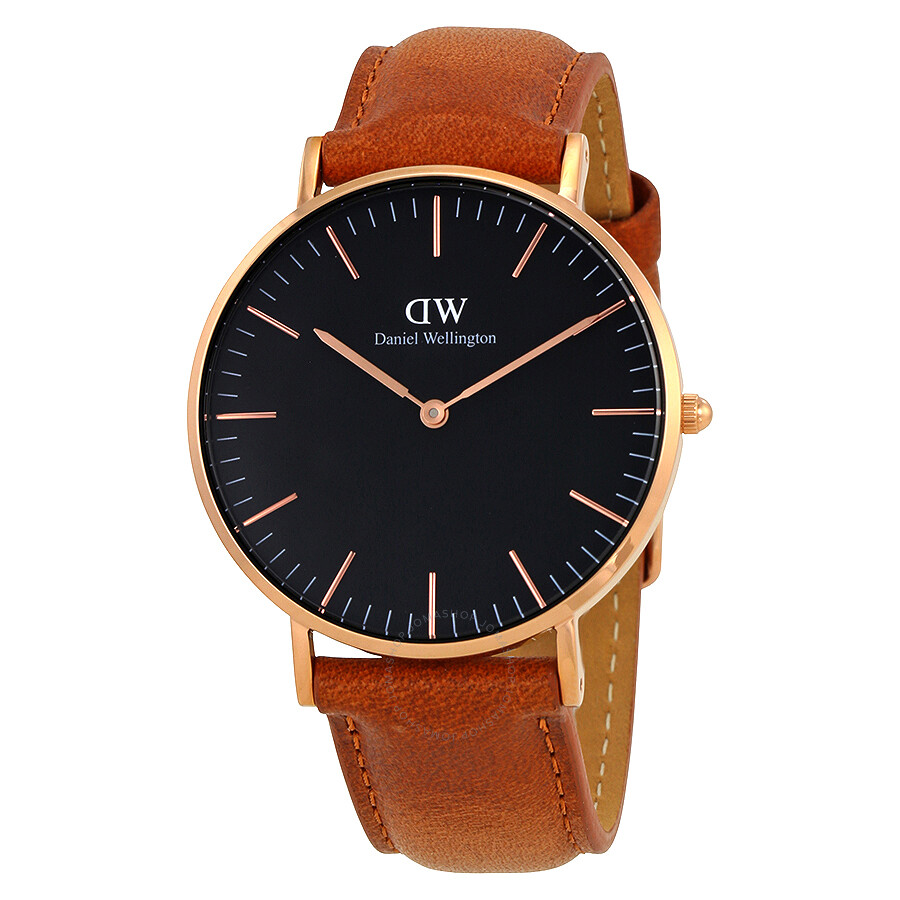 daniel wellington daniel wellington classic durham black dial 36mm watch dw00100138