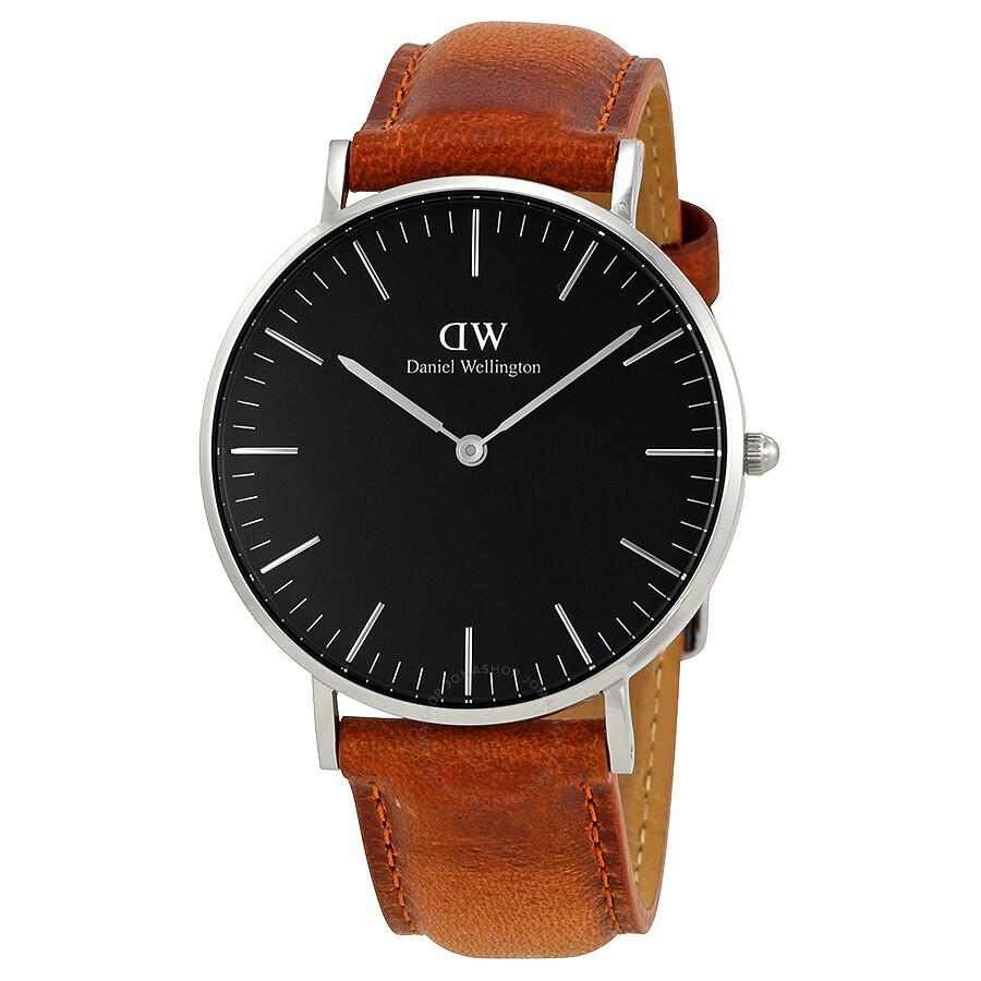 daniel wellington daniel wellington classic durham black dial 36mm watch dw00100144