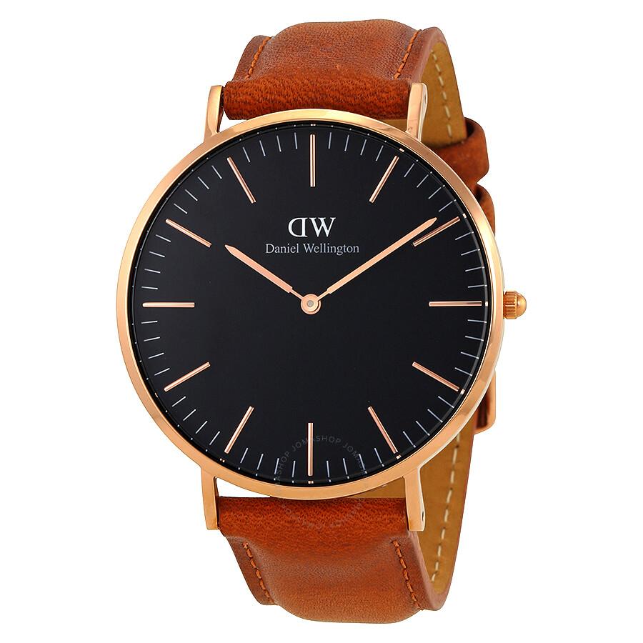 daniel wellington daniel wellington classic durham black dial 40 mm watch dw00100126
