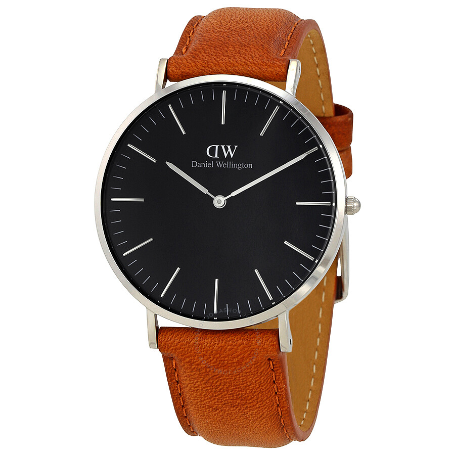 Daniel Wellington Classic Durham Black Dial 40 MM Watch .