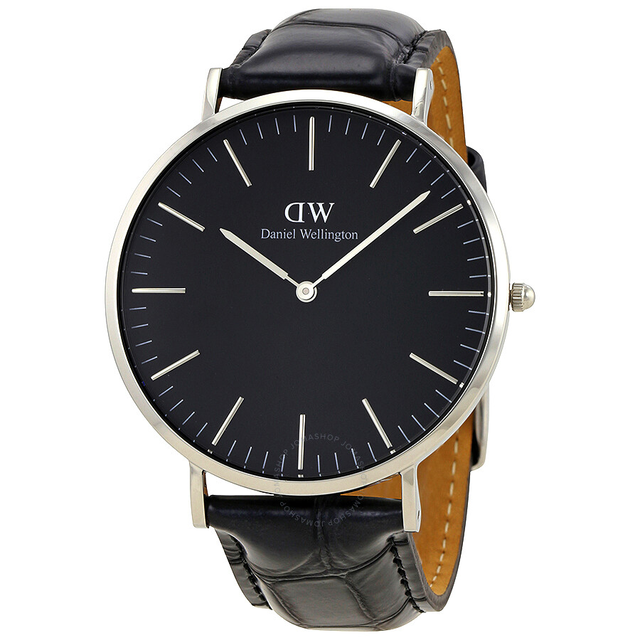daniel wellington daniel wellington classic reading black dial 40 mm watch dw00100135