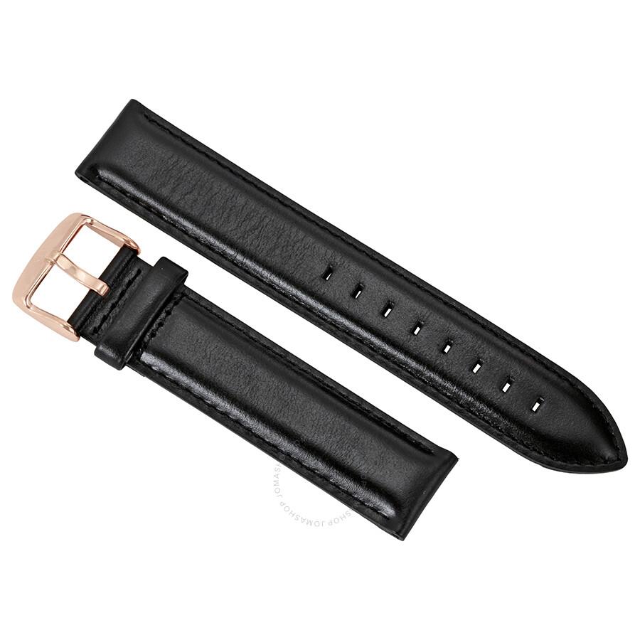 daniel wellington daniel wellington classic sheffield extra long black leather watch strap xl0307dw