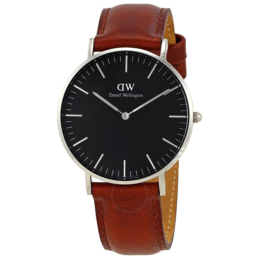 daniel wellington daniel wellington classic st mawes black dial 36mm watch dw00100142