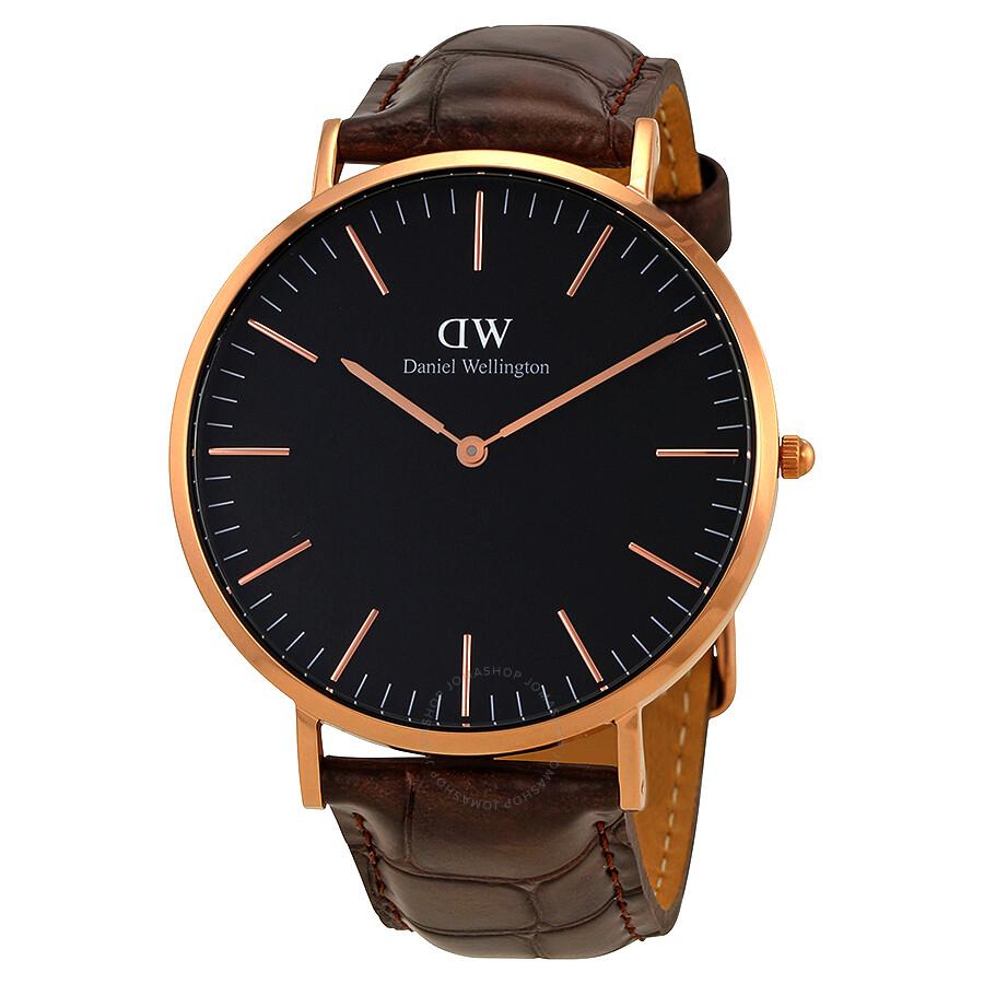 daniel wellington daniel wellington classic york black dial 40 mm watch dw00100128