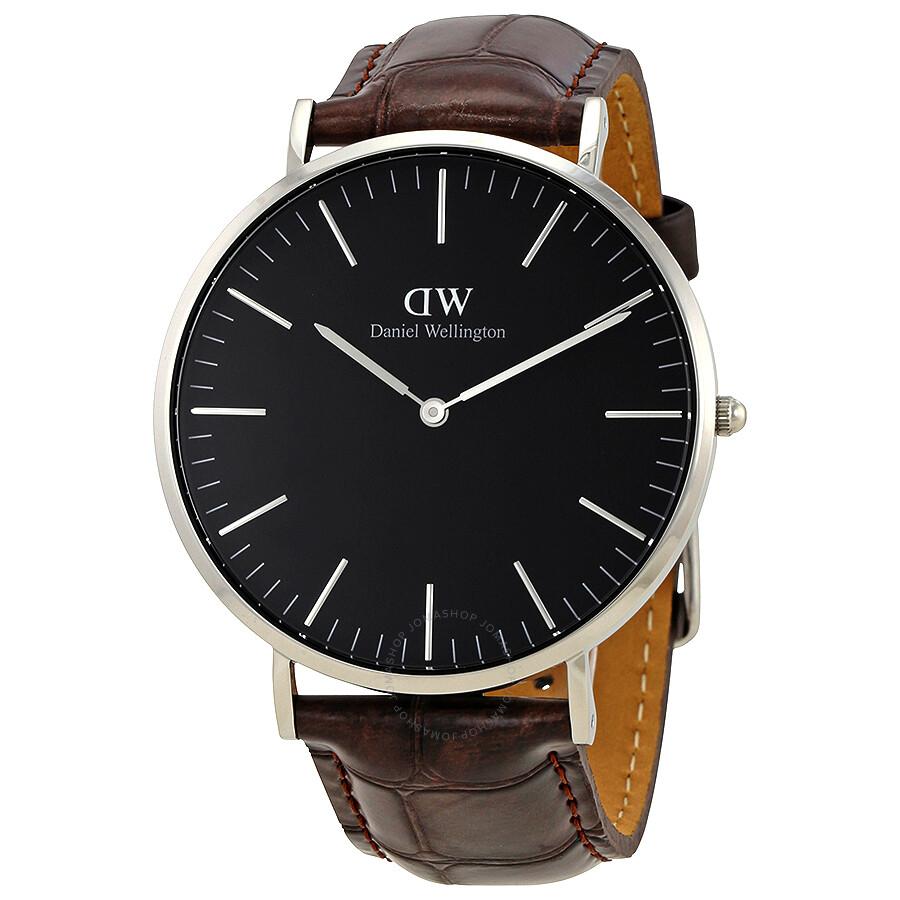 daniel wellington daniel wellington classic york black dial 40 mm watch dw00100134