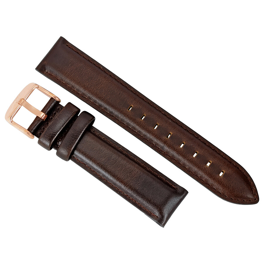 daniel wellington daniel wellington dapper bristol brown leather watch strap 1203dw