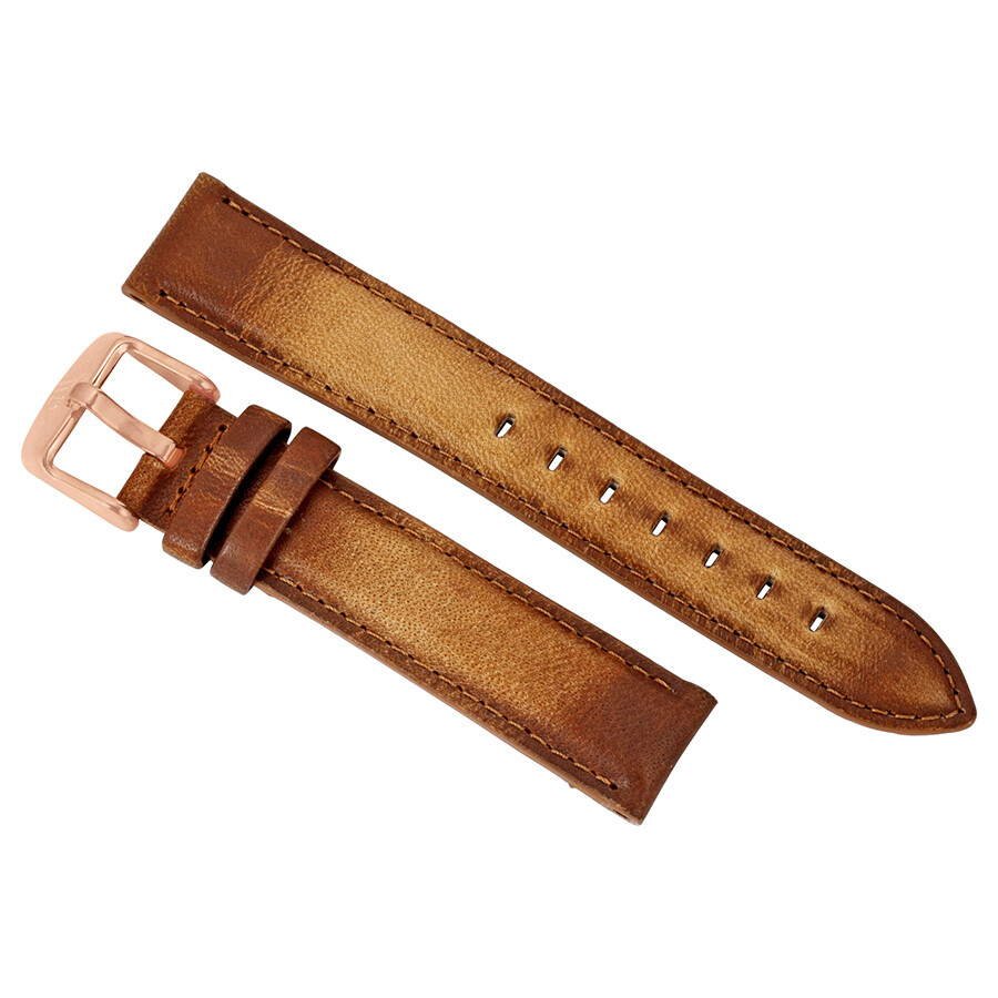daniel wellington daniel wellington dapper durham brown leather watch band strap dw00200129