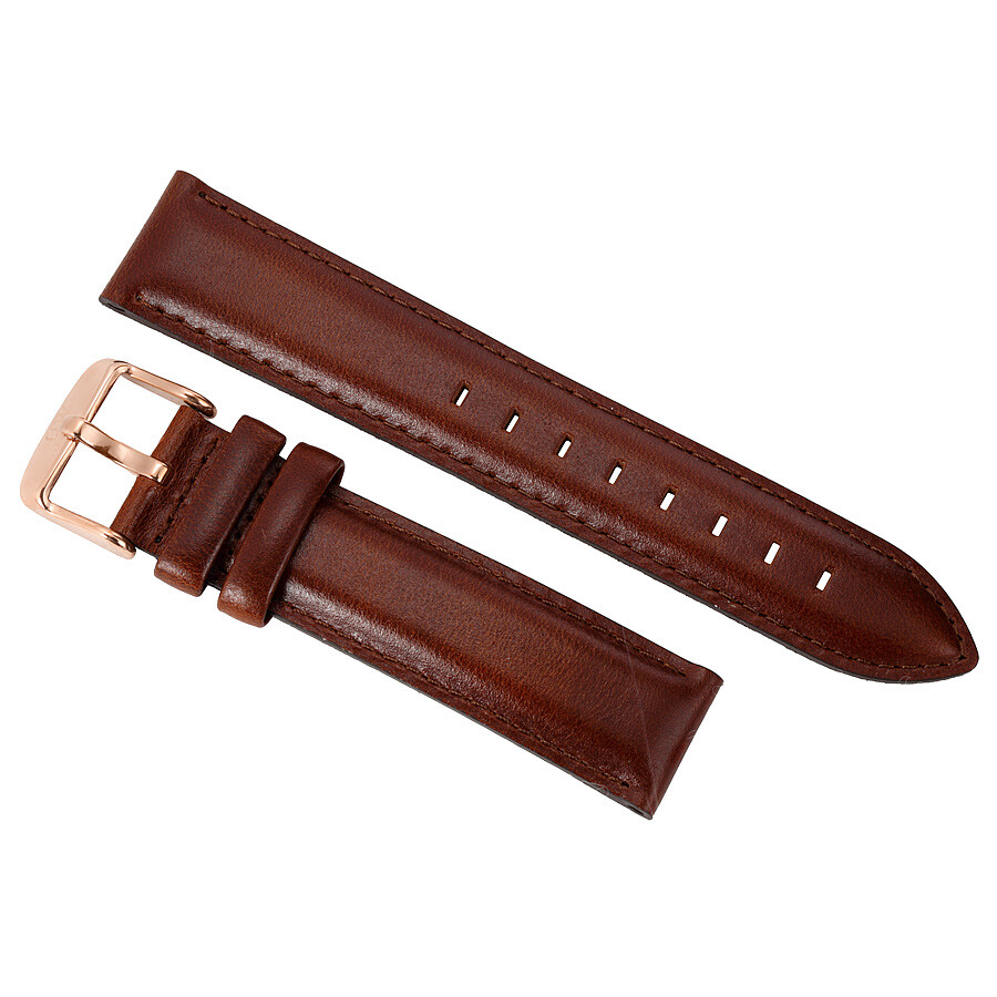 daniel wellington daniel wellington dapper st mawes brown leather watch strap1200dw