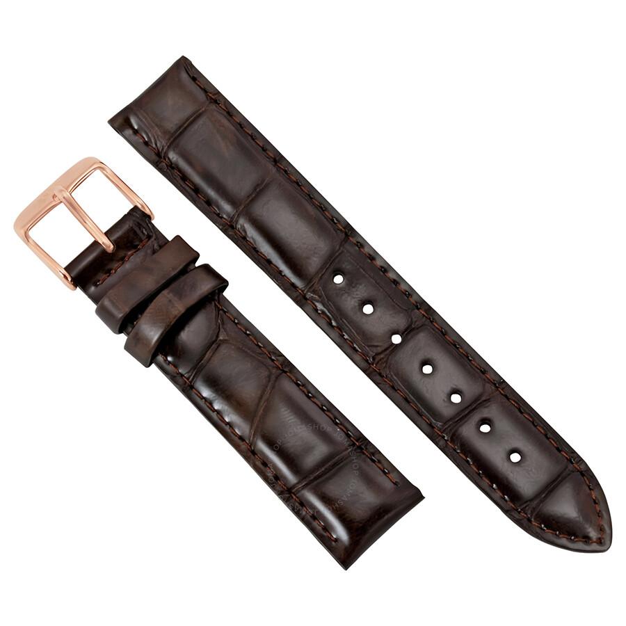 daniel wellington daniel wellington dapper york brown leather watch strap dw00200093