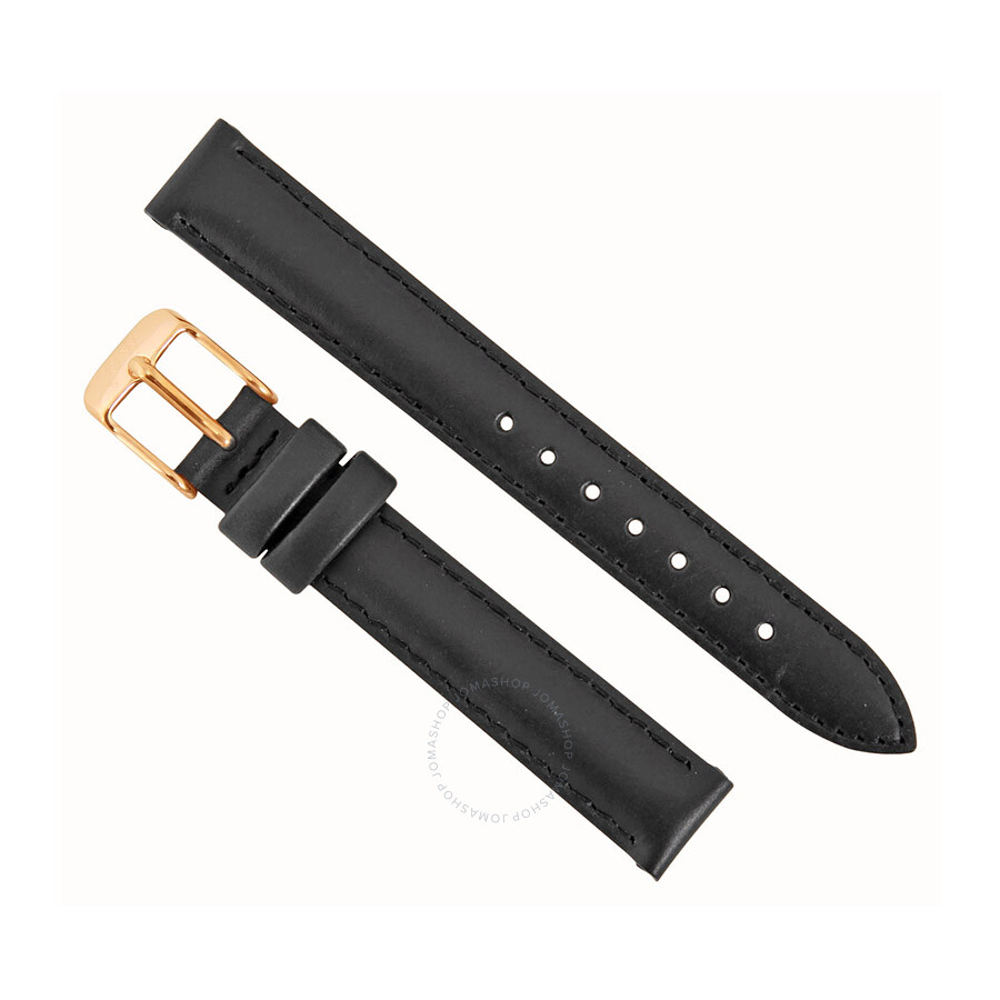 daniel wellington daniel wellington sheffield 13mm black leather watch band strap 1001dw