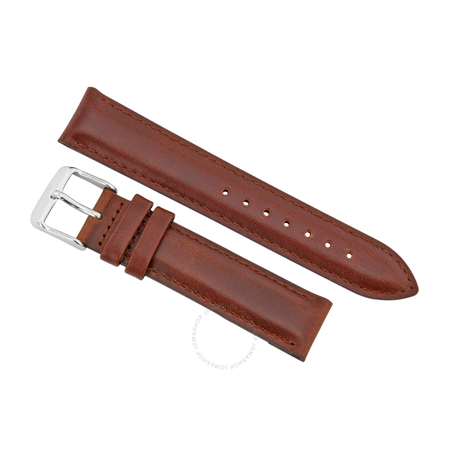 daniel wellington daniel wellington st mawes 17 mm brown leather watch strap 1060dw