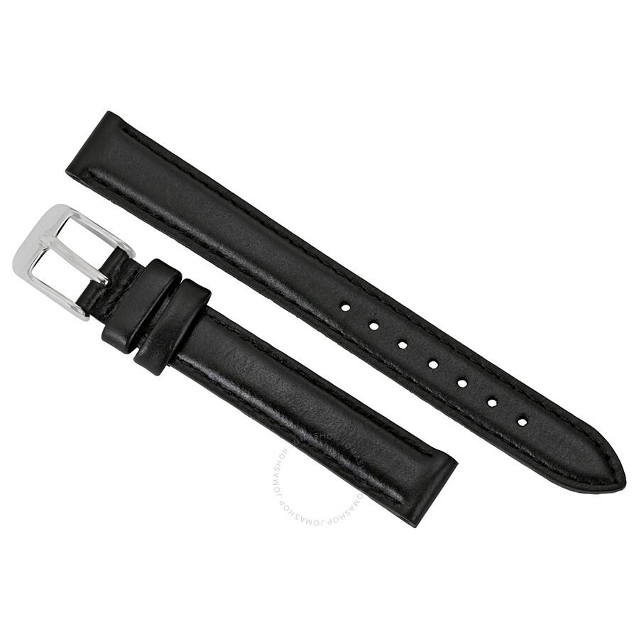 daniel wellington daniel wellington st mawes extra long black leather watch strap xl1021dw