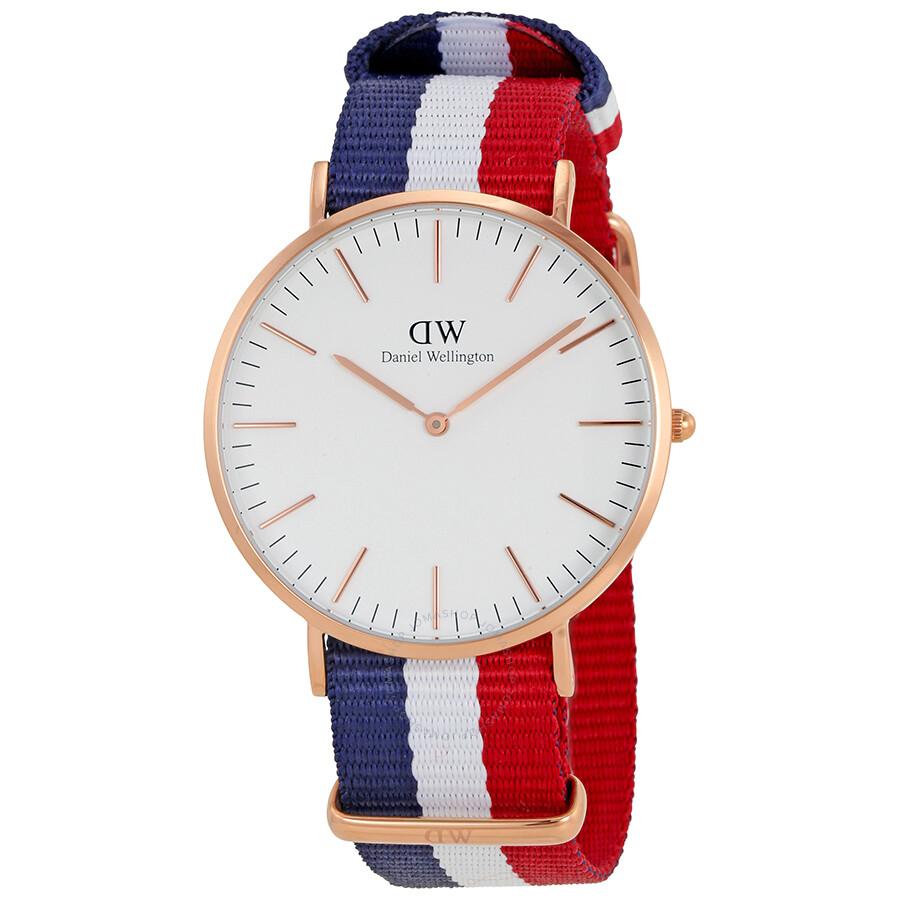 daniel wellington male daniel wellington white dial mens watch dw00100003