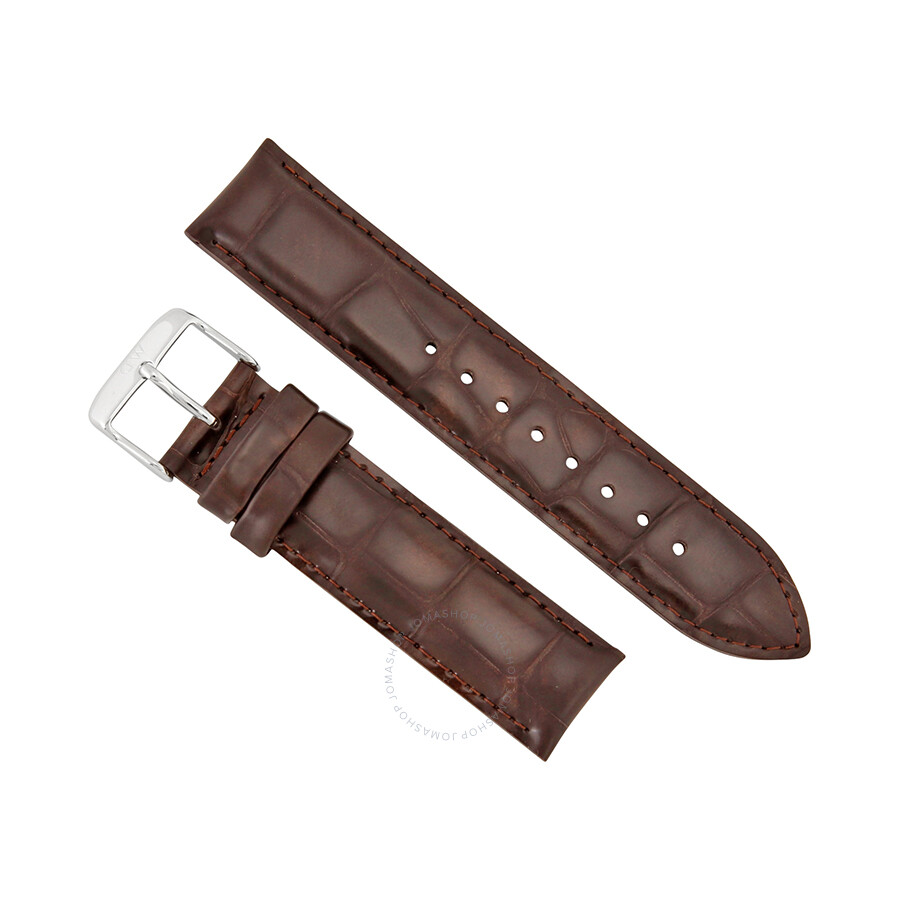 daniel wellington daniel wellington york 20mm brown leather watch band strap 0411dw