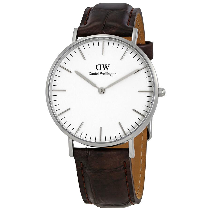 daniel wellington female daniel wellington york white dial ladies watch dw00100055