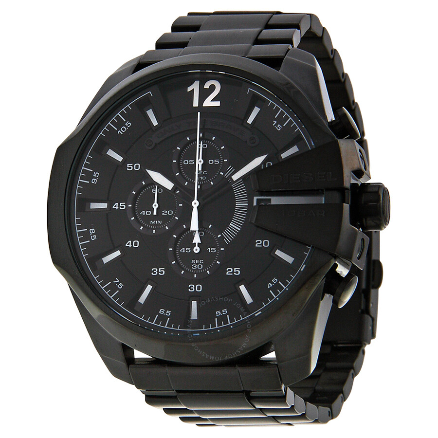new s grey steel ion dial men chronograph black i burberry watch stainless watches