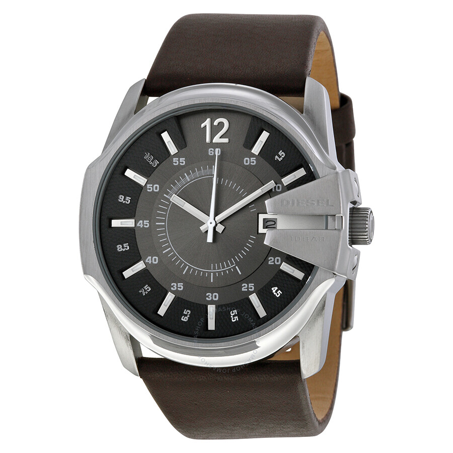 watch smc watches india price leather product brown buy in analog